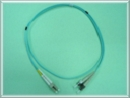 Multimode Duplex OM3 50/125um  ST-LC Fiber Optic Patchcord
