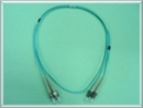 Multimode Duplex OM3 50/125um  ST-ST Fiber Optic Patchcord